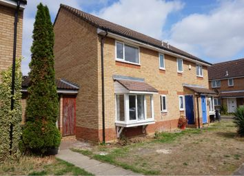 Thumbnail 1 bed end terrace house for sale in Honeysuckle Way, Goldington, Bedford