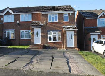 Thumbnail 2 bed terraced house for sale in Denbigh Close, Dudley, West Midlands