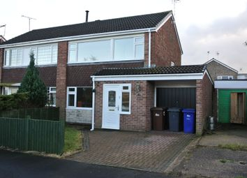 Thumbnail 3 bed semi-detached house to rent in Grenville Close, Uttoxeter