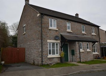Thumbnail 2 bed semi-detached house to rent in Chestnut Close, Pillmere, Saltash, Cornwall