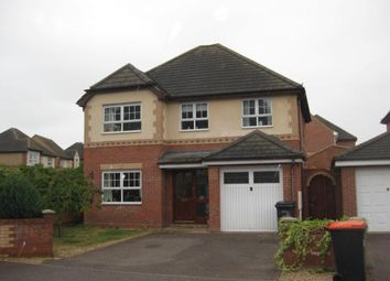 Thumbnail 4 bedroom detached house to rent in Asgard Drive, Bedford
