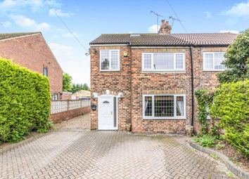 Thumbnail 3 bed semi-detached house for sale in Broughton Road, Bessacarr, Doncaster