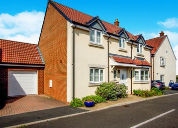 Thumbnail 4 bed link-detached house for sale in John St Quinton Close, Stoke Gifford, Bristol