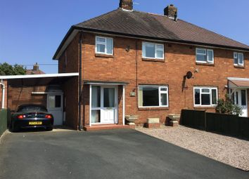 Thumbnail 3 bed semi-detached house for sale in Poynton Road, Shawbury, Shrewsbury