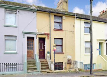 Thumbnail 3 bed terraced house for sale in Queen Street, Folkestone, Kent
