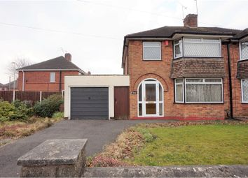 Thumbnail 3 bedroom semi-detached house for sale in Park Close, Dudley