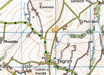 Thumbnail Land for sale in 43.3 Acres Land Tegryn, Llanfyrnach, Pembrokeshire