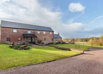 Thumbnail 4 bed detached house for sale in Tirley Lane, Utkinton, Tarporley