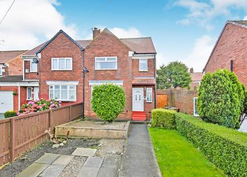 Thumbnail 2 bed semi-detached house for sale in Bevan Avenue, Sunderland, Tyne And Wear