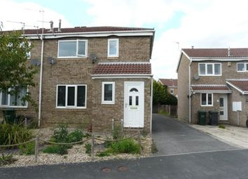 Thumbnail 1 bed flat to rent in Bassett Close, Selby