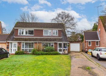 Thumbnail 3 bed semi-detached house for sale in Foxcote, Finchampstead, Wokingham
