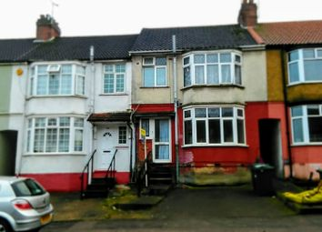 Thumbnail 3 bed terraced house to rent in Runley Road, Luton