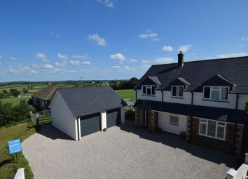 Thumbnail 5 bed detached house for sale in Ashwater, Beaworthy