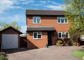 Thumbnail 4 bed detached house for sale in Plympton Close, Reading