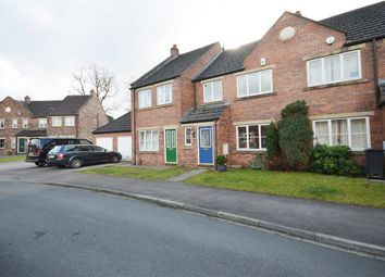 Thumbnail 3 bed terraced house for sale in Rosecroft Way, Rawcliffe, York, North Yorkshire