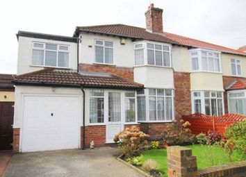Thumbnail 4 bed semi-detached house for sale in Kirkmaiden Road, Grassendale, Liverpool