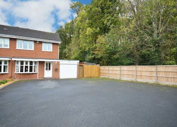 Thumbnail 3 bed semi-detached house for sale in Dunton Hall Road, Shirley, Solihull