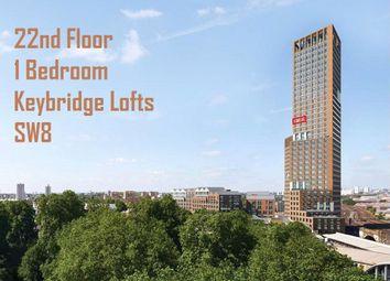 Thumbnail 1 bed flat for sale in Keybridge Lofts, Keybridge, South Lambeth Road, Vauxhall
