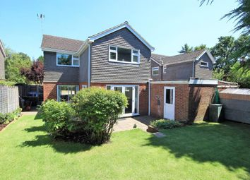 Thumbnail 4 bedroom detached house for sale in Queensway, Frimley Green