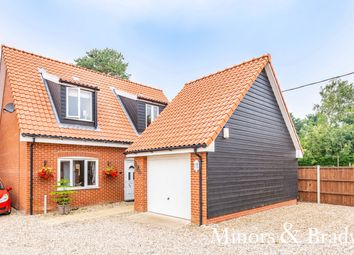 Thumbnail 3 bed detached house for sale in Jubilee Court, Foxley, Dereham