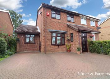 Thumbnail 3 bed semi-detached house for sale in Sprites Lane, Sproughton, Ipswich