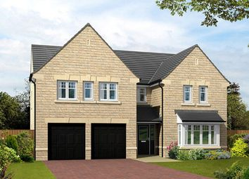 "Thumbnail 5 bed detached house for sale in ""The Dunstanburgh"" at Burn Road, Huddersfield"