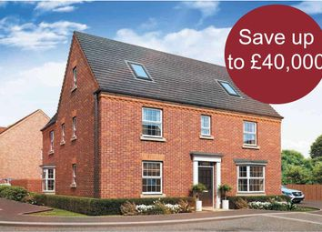 """Thumbnail 5 bedroom detached house for sale in """"Moorecroft"""" at Station Road, Langford, Biggleswade"""
