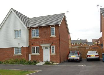 Thumbnail 2 bed end terrace house to rent in Mistletoe Drive, Minster On Sea, Sheerness, Kent
