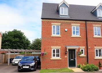Thumbnail 3 bed end terrace house for sale in Thirsk Close, Bourne