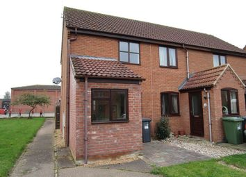 Thumbnail 1 bedroom end terrace house to rent in Strawberry Fields, Stalham, Norwich