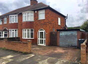 Thumbnail 3 bed semi-detached house for sale in Strathmore Avenue, Rushey Mead, Leicester