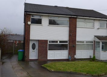 Thumbnail 3 bed semi-detached house for sale in Kirkstall Ave, Heywood