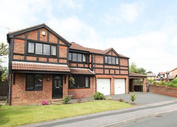 Thumbnail 5 bed detached house for sale in Crown Point Road, Ossett, West Yorkshire