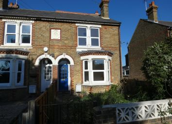 Thumbnail 3 bed end terrace house to rent in Belmont Road, Whitstable