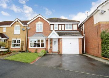 Thumbnail 4 bed detached house for sale in Yeats Close, St Andrews Ridge, Swindon