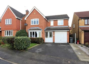 Thumbnail 4 bed detached house for sale in Leith Close, Ashby-De-La-Zouch