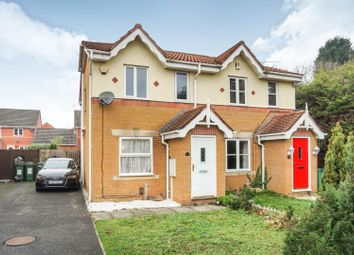 Thumbnail 2 bedroom semi-detached house for sale in Haskell Close, Leicester