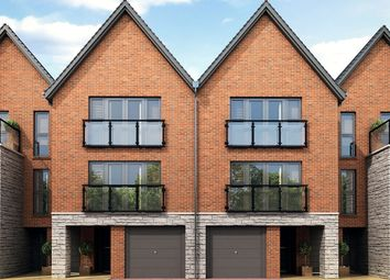 "Thumbnail 4 bed terraced house for sale in ""Lancaster Mid"" at Begbrook Park, Frenchay, Bristol"