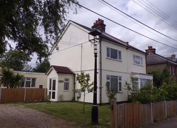 Thumbnail 2 bed semi-detached house for sale in Vange Park Road, Vange, Basildon