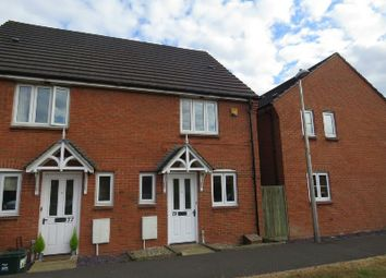 Thumbnail 2 bed end terrace house to rent in Willow Close, St. Georges, Weston-Super-Mare