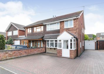 3 bed semi-detached house for sale in Clanfield Avenue, Wednesfield, Wolverhampton WV11