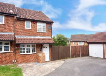 Thumbnail 2 bed end terrace house for sale in Hardy Close, Walderslade, Chatham