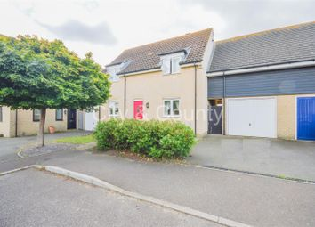Thumbnail 3 bed terraced house for sale in Manor Close, Farcet, Peterborough