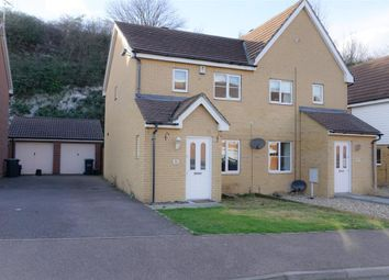 Thumbnail 3 bedroom semi-detached house for sale in Maritime Gate, Northfleet, Gravesend