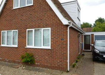Thumbnail 3 bedroom detached bungalow to rent in 28 Warren Avenue, Hellesdon, Norfolk