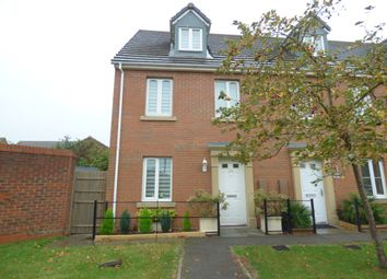 Thumbnail 3 bed end terrace house for sale in Lapwing Close, Corby