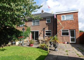 Thumbnail 4 bed semi-detached house for sale in Vernon Close, Cheadle Hulme, Cheshire