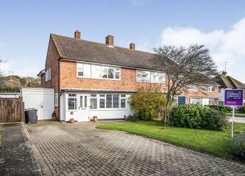 Thumbnail Semi-detached house for sale in Elmshurst Gardens, Tonbridge