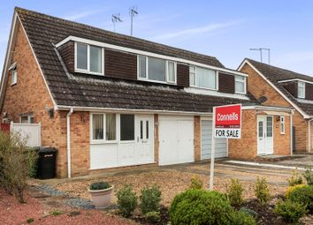 Thumbnail 3 bed semi-detached house for sale in Ainsdale Drive, Werrington, Peterborough