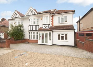 Thumbnail 4 bed semi-detached house for sale in Lyndhurst Avenue, Pinner, Middlesex